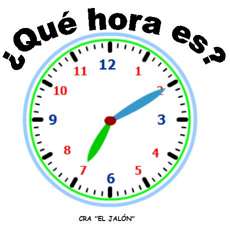 que hora es worksheet